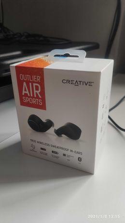 Creative OUTLIER AIR SPORTS Nowe słuchawki TWS AptX Bluetooth 5.0