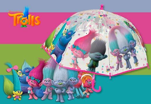 Guarda-chuva infantil TROLLS