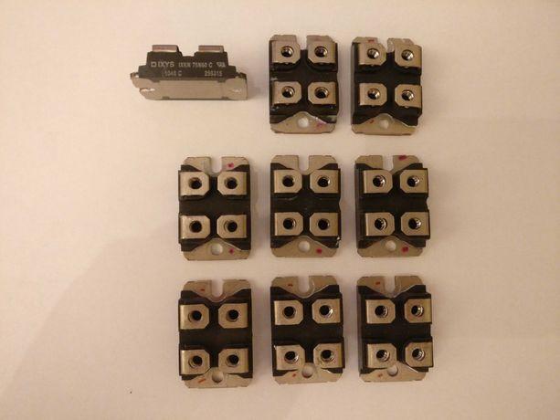 Tranzystory dużej mocy MOSFET IXYS IXKN75N60C 600V 75A