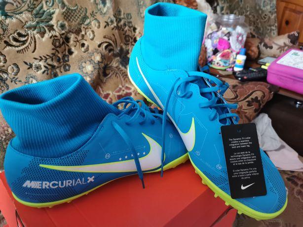 Футбольная обувь, бутсы, копы, сороконожки Nike оригинал