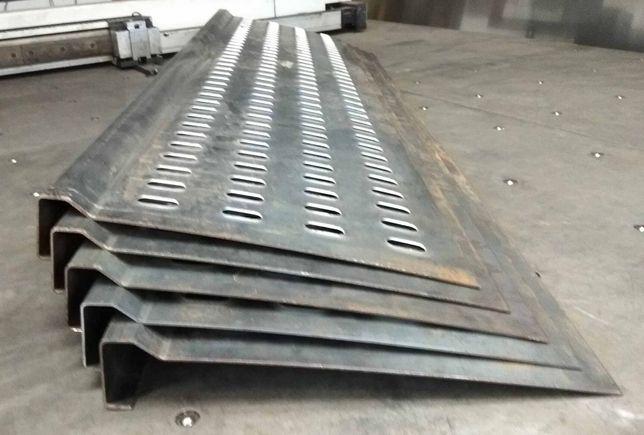 Panel aluminiowy Lohr Pomoc drogowa Laweta Najazd Belka podłogowa