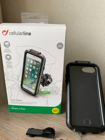 Мотодержатель или крепление для iPhone 7 Plus и iPhone 8 Plus