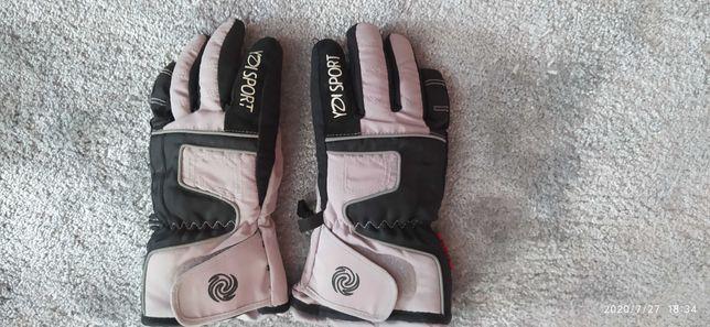 Chłopięce rękawiczki narciarskie