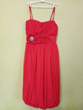 Нарядное платье для девочки на торжество на выпускной, вечернее