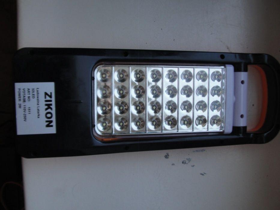 Profesjonalna latarka akumulatorowa Zikon ZK 1511 32 diody + kabel Świdnik - image 1