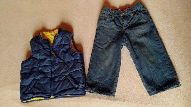 Теплі жилет old navy 2T і джинси 18-24 міс