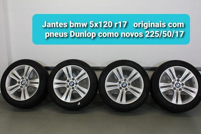 Jantes Bmw R17 com pneus