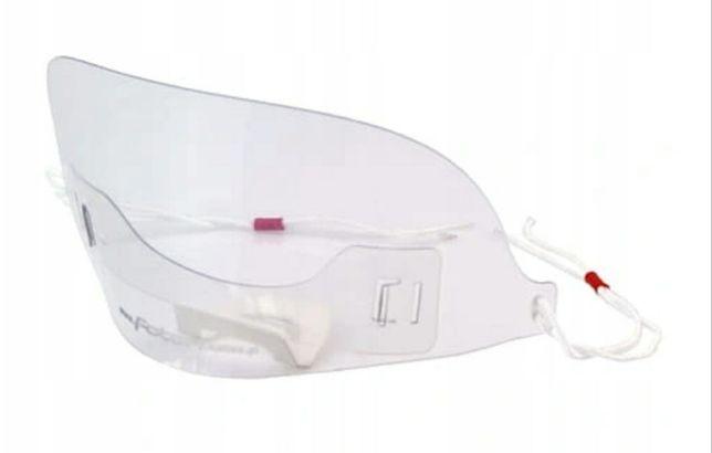 Maski z pleksi IDEALNE maska ochronna dla sprzedawców.. Małe przyłbice