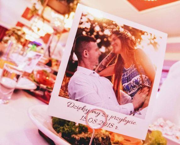 Foto winietki weselne, ślub wesele, winietka Podziękowania dla gości