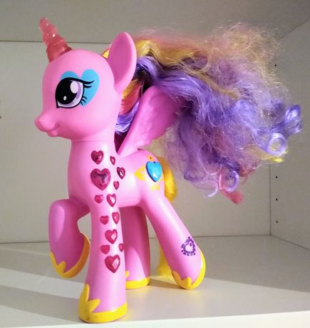 My Little Pony zestaw: księżniczka Celestia i Cadence, rainbowdash