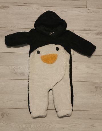 Kombinezon przejściowy pluszowy Cubus 74 pingwin
