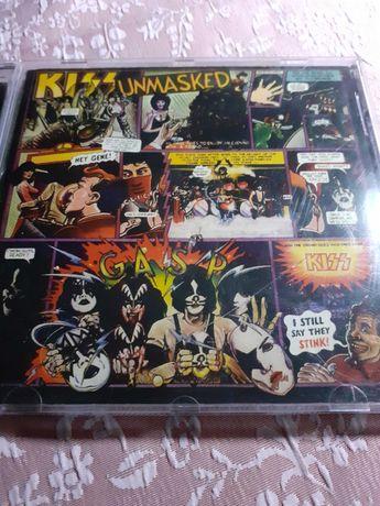 Płyta cd Kiss Unimasked.