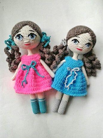 Вязаные куколки.