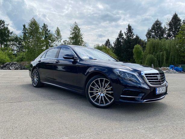 Mercedes S-Klasa - wynajem ślub/wesele