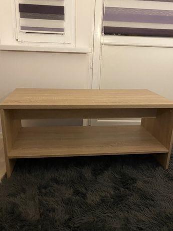 Drewniany stolik stojąca szafka komoda pod TV
