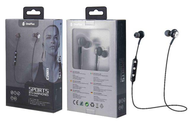 Auriculares/Earphones Bluetooth Sport com microfone embutido