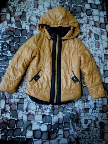 Куртка осенняя для мальчика 6-7 лет