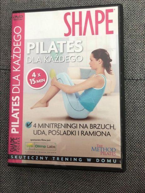 Ćwiczenia DVD pilates dla każdego SHAPE