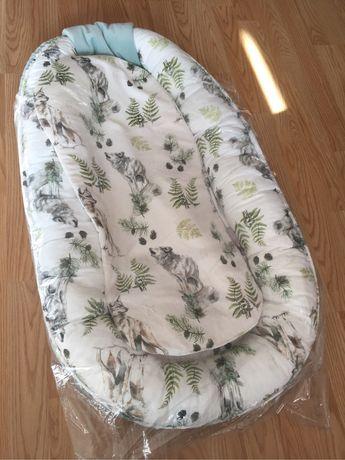 Gniazdo ponton dla noworodka Baby Steps bawełna