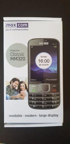 Telefon MAXCOM MM320 czarny