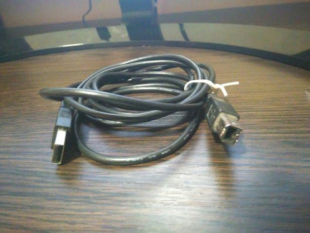 Кабель usb B для принтера сканера мфу хаб монитора