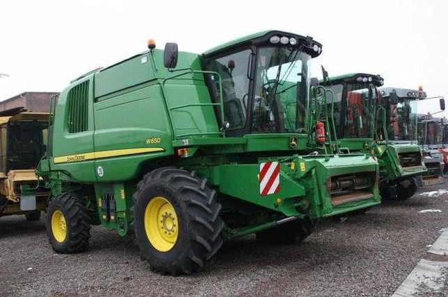 Комбайн зерноуборочный John Deere W 650 (2009)