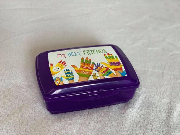 Pudełko śniadaniowe plastikowe duuuże - HIT!