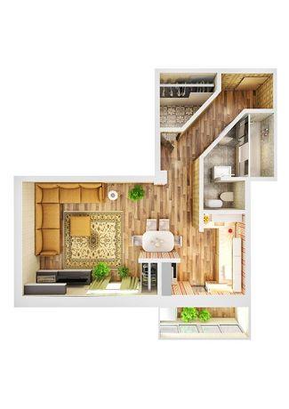 1 - комнатная квартира  м-н Таврический 4А Херсон