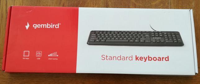 Sprzedam nowa klawiaturę gembird 104 pełnowymiarową z myszką usb