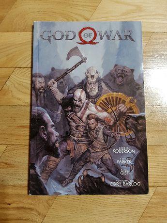 God of War 2019 5w1 Komiks Comic Book Roberson Parker Angielski Nowy