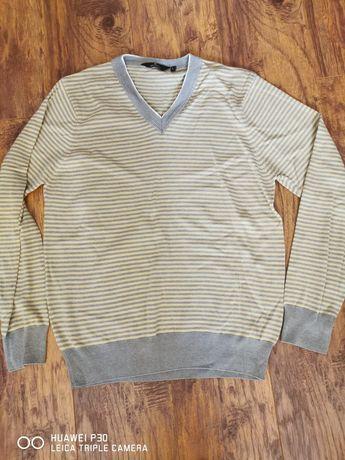 Sweterek męski w paski