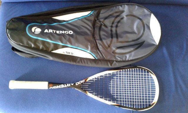Rakieta do squasha z torbą nowa cena