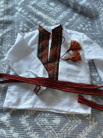 Українська вишита сорочка в ручну 74(80)