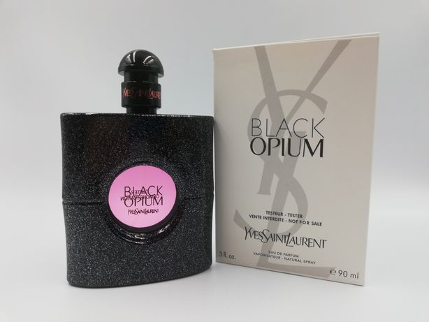 Perfumy BLACK Opium ysl 90ml Tester Wyprzedaż