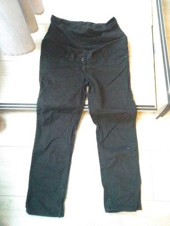 Spodnie ciążowe czarne 3/4 H&M Mama