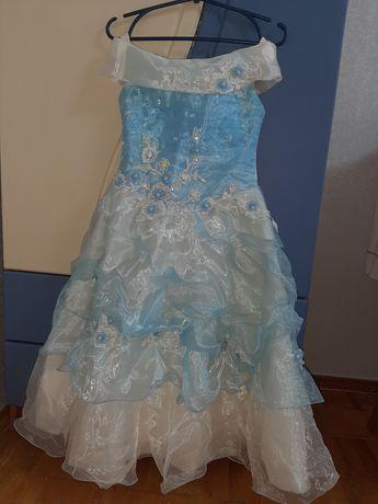 Детское выпускное нарядное платье