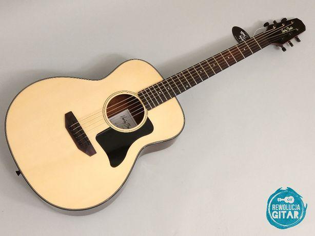 Gitara Akustyczna o krótszej skali do podróży turystyczna NAGRANIE