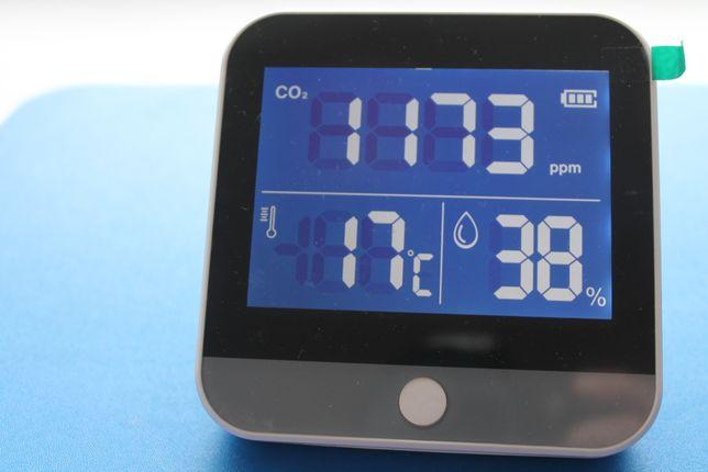 Измеритель углекислого газа (CO2), NDIR монитор качества воздуха