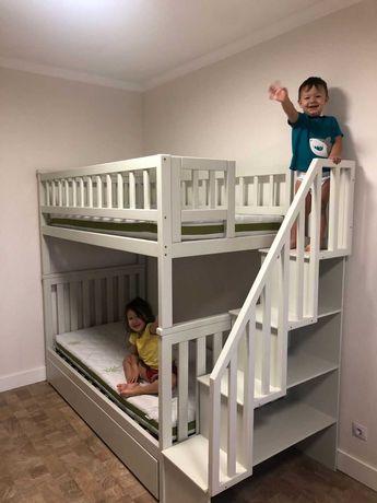 Ліжко двохповерхове, двухярусная кровать