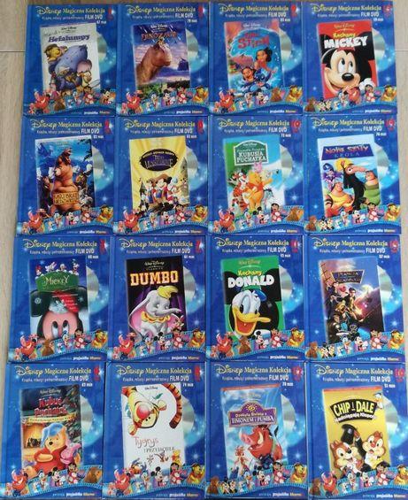 kolekcja bajki dla dzieci, Disney, DVD