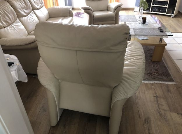 KLER piekny komplet kanapa i 2 sofy