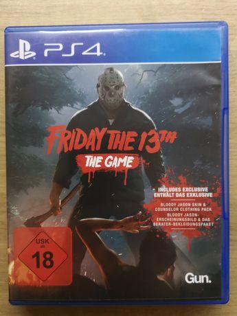 Friday the 13th ! Gra na ps4!