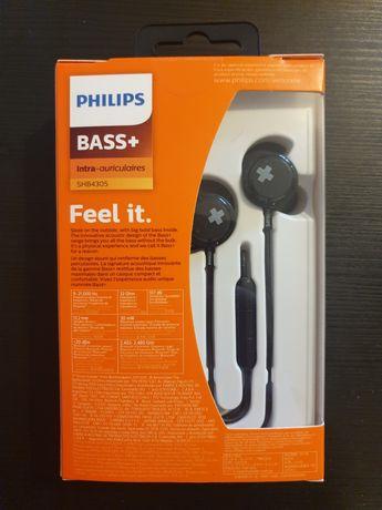 Słuchawki bezprzewodowe Philips SHB4305 BASS+ BT