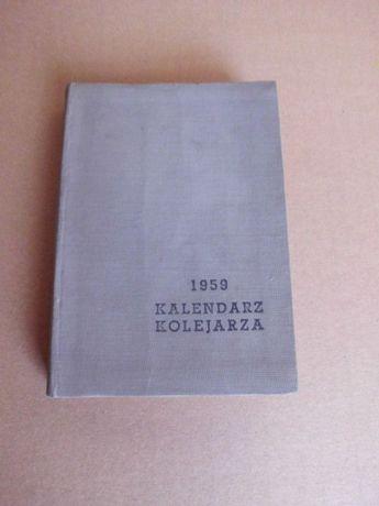 pkp kolej kalendarz kolejarza 1959
