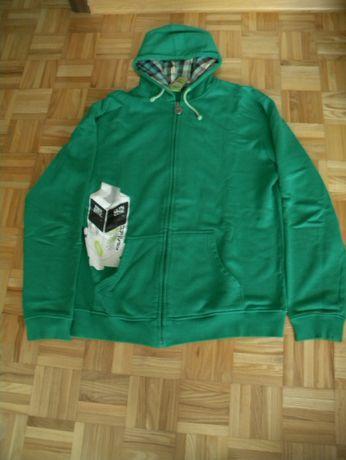 Sprzedam zieloną bluzę męską rozmiar XXL