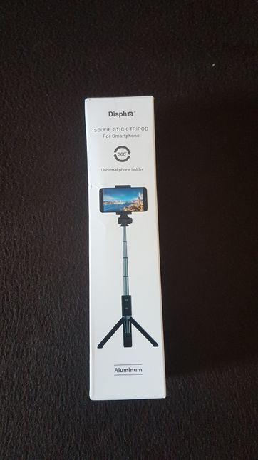 Bezprzewodowy selfie stick/statyw 360