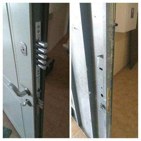 Обивка,обшивка,перетяжка,реставрация,ремонт двери МДФ.установка замков