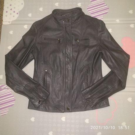 Куртка кожаная 42-44 р