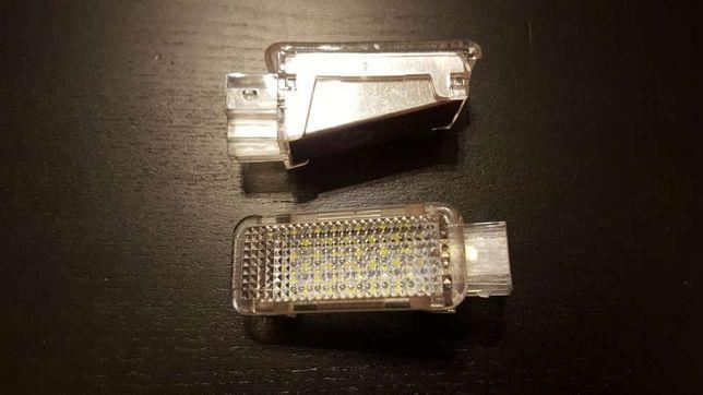 Luzes cortesia LED portas e pés VAG