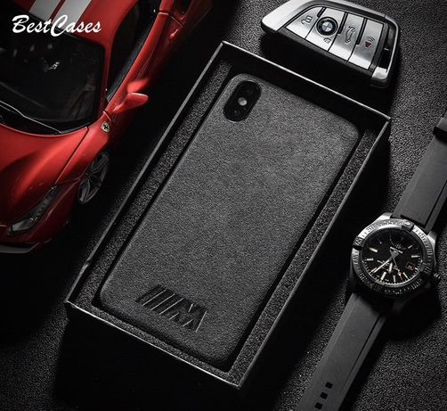 РОСКОШНЫЙ! Чехол BMW/AMG для iPhone 6/6S/6+/6S+/7/7+/8/8+/X/XR/XS Max